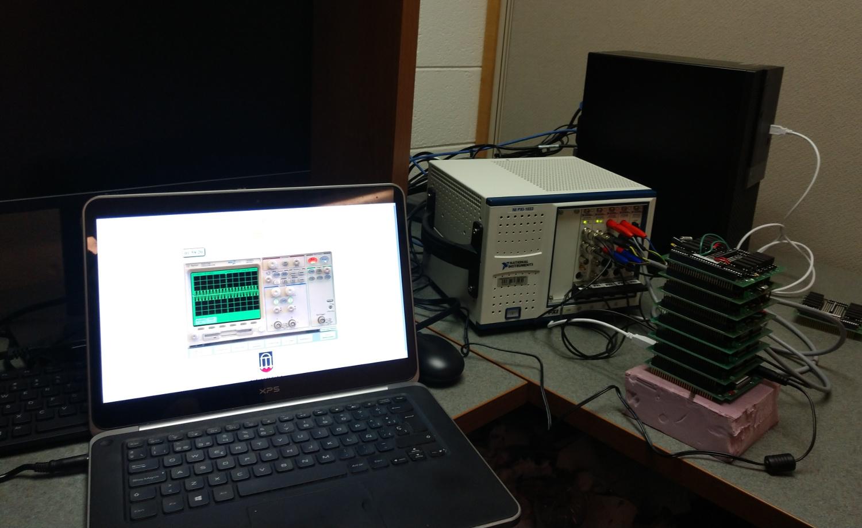 Electronics laboratory deployment at UGA