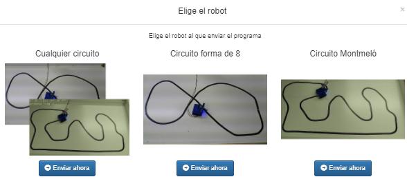 Laboratorio remoto de Robótica de Arduino – Visual