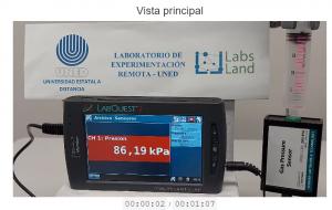 La UNED de Costa Rica y Labsland desarrollan un nuevo laboratorio remoto de química, el laboratorio Ley de Boyle
